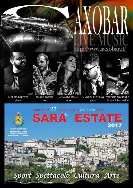 Concerto Saracena Saxobar – Sara Estate