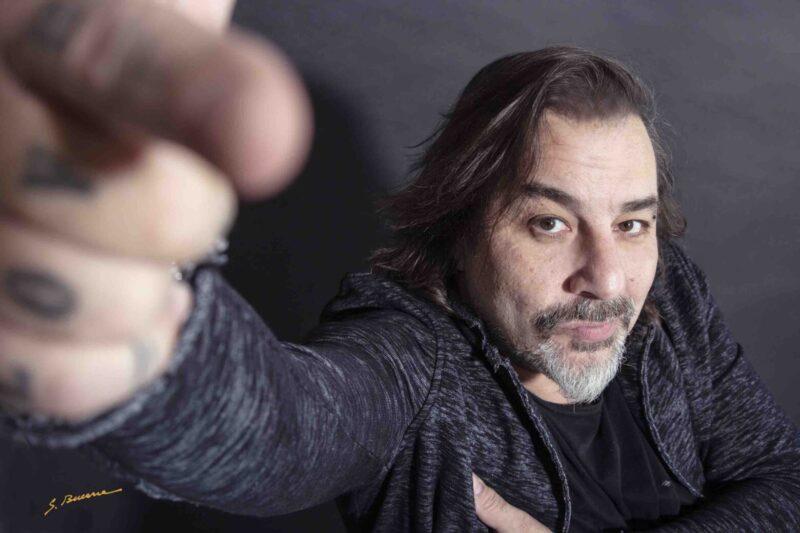 Luca Anceschi, artista di cuore col rock nelle vene